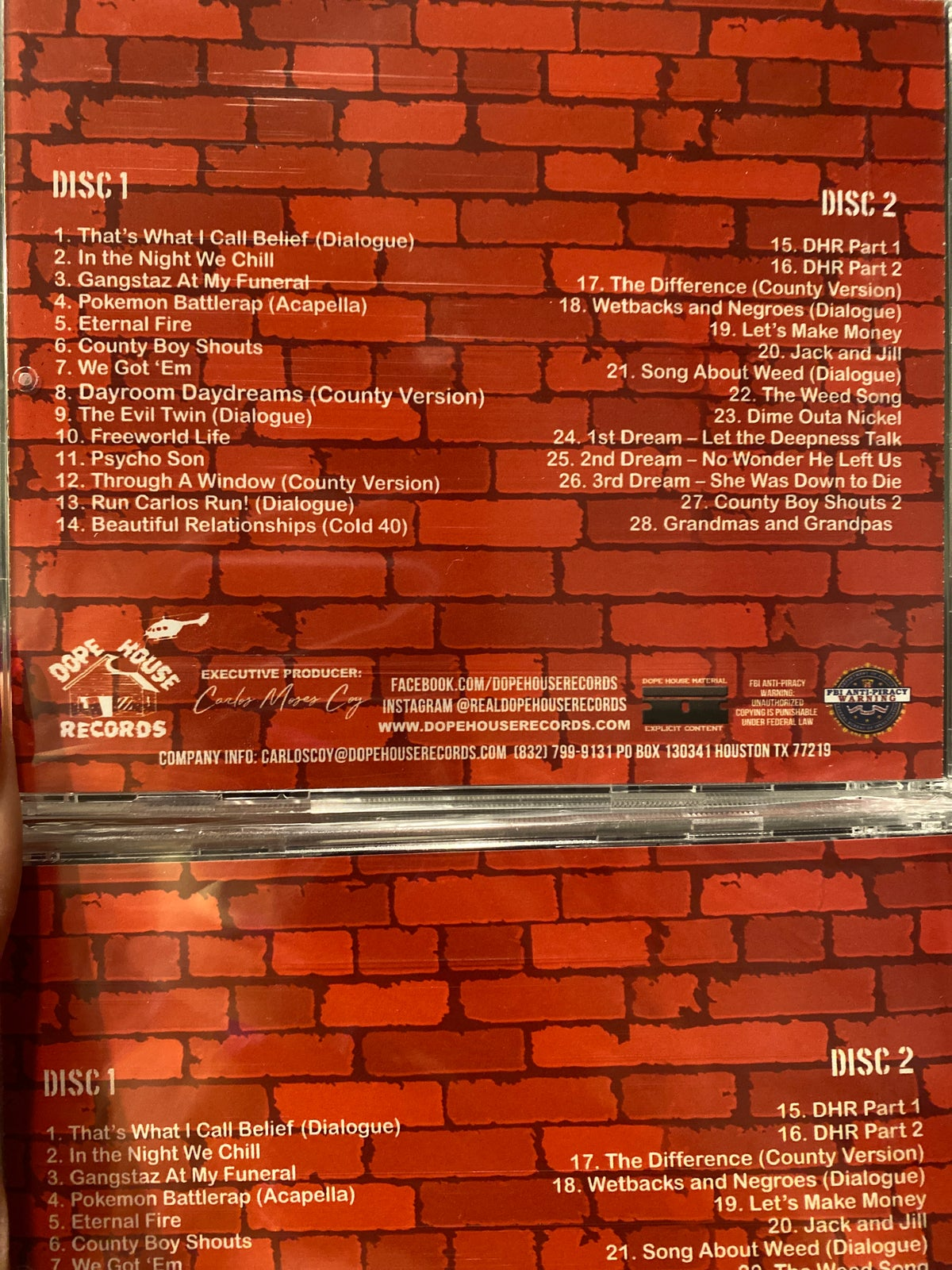 "SPM ""Telephone Road"" DOUBLE DISC cd"