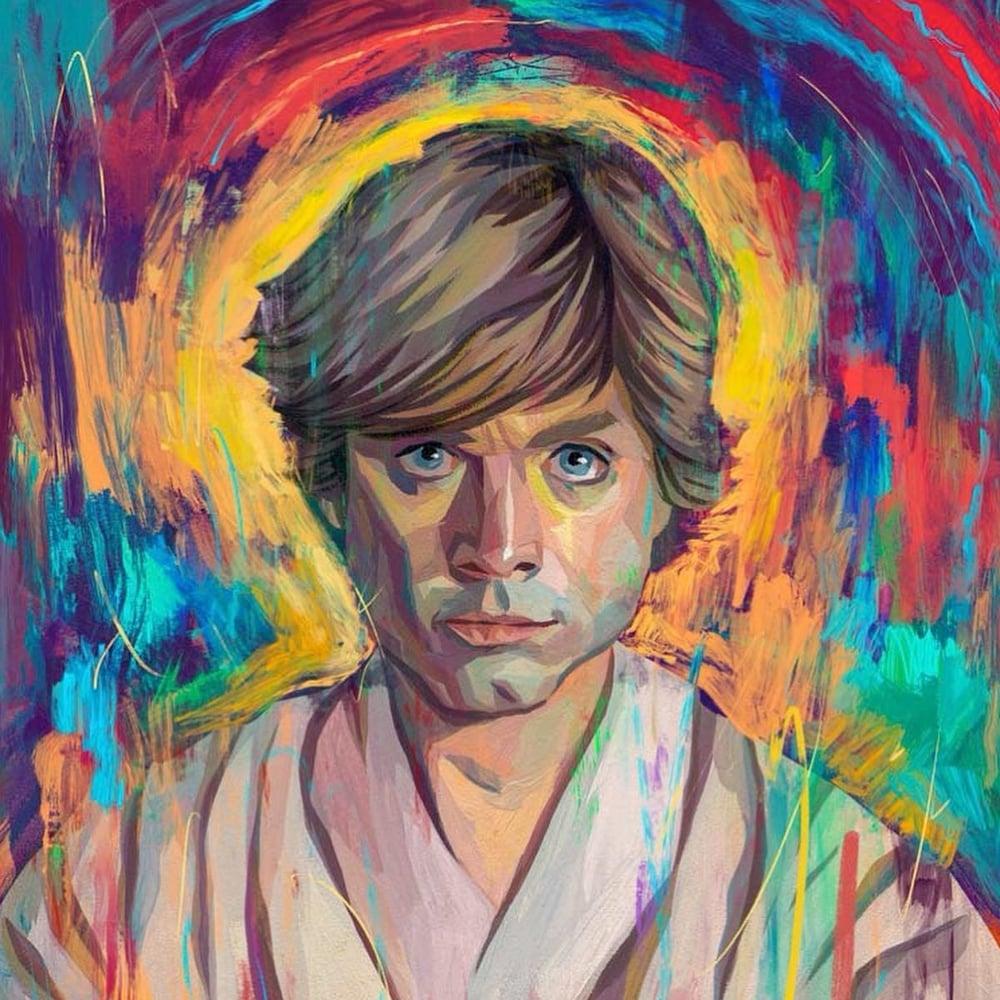 Image of Luke -- Artist Proof - 3 Reg/Object/Portrait Versions