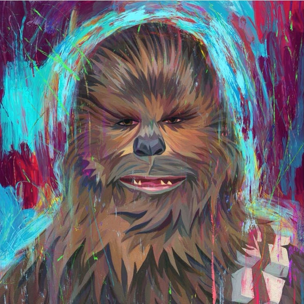 Image of Chewy -- Artist Proof - 3 Reg/Object/Portrait Versions