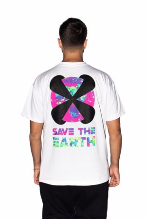 "Image of X-EARTH TEE ""WHITE"""