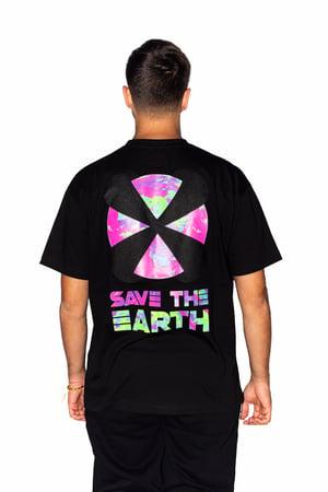 "Image of X-EARTH TEE ""BLACK"""