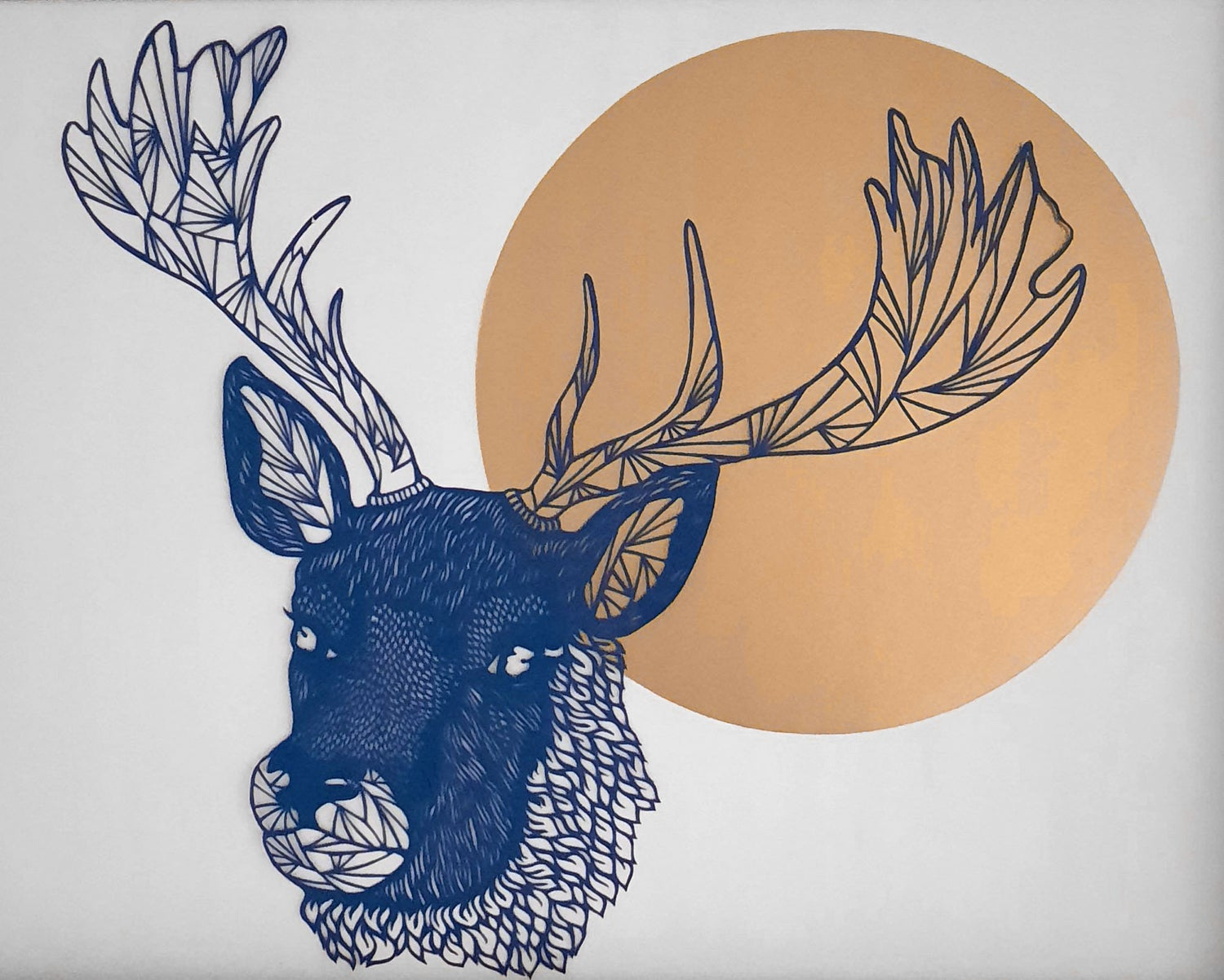 Image of Paper Cut Stag