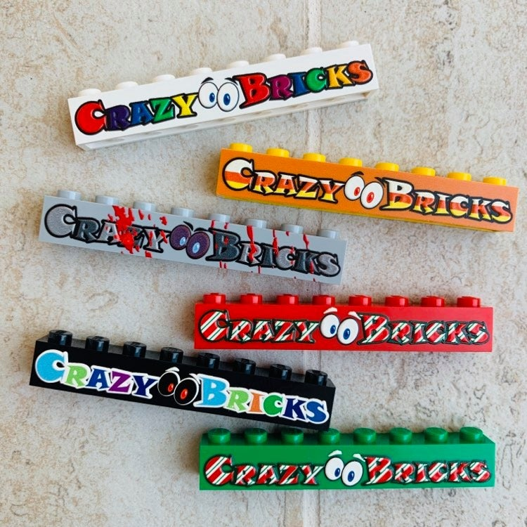 Image of Themed CrazyBricks Brick Badges LIMITED!