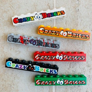 Image of Themed CrazyBricks Brick Badges LIMITED!