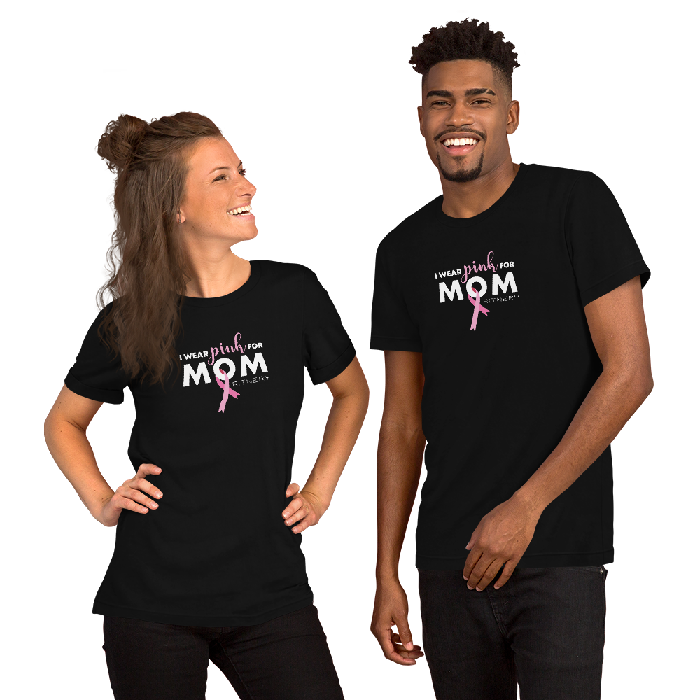 I Wear Pink For My Mom - Unisex