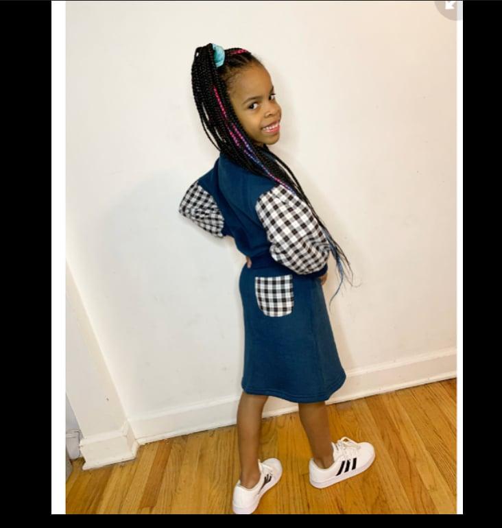 Image of Plaid Girl Skirt Set