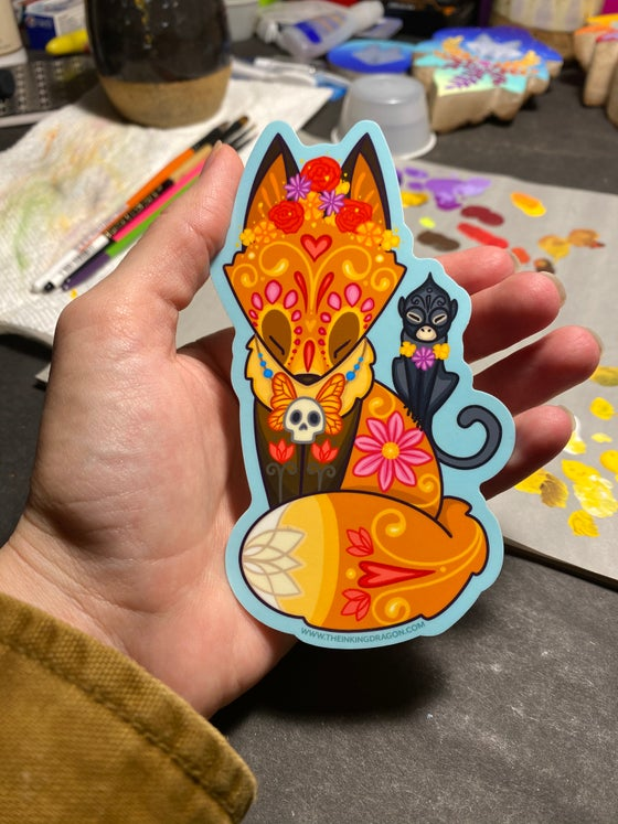 Image of Frida Fox and Friend  Stickers