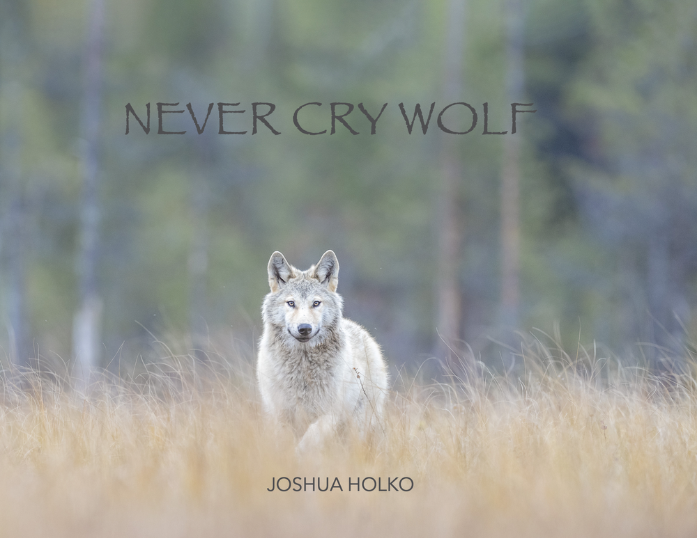 Image of Never Cry Wolf Hard Cover