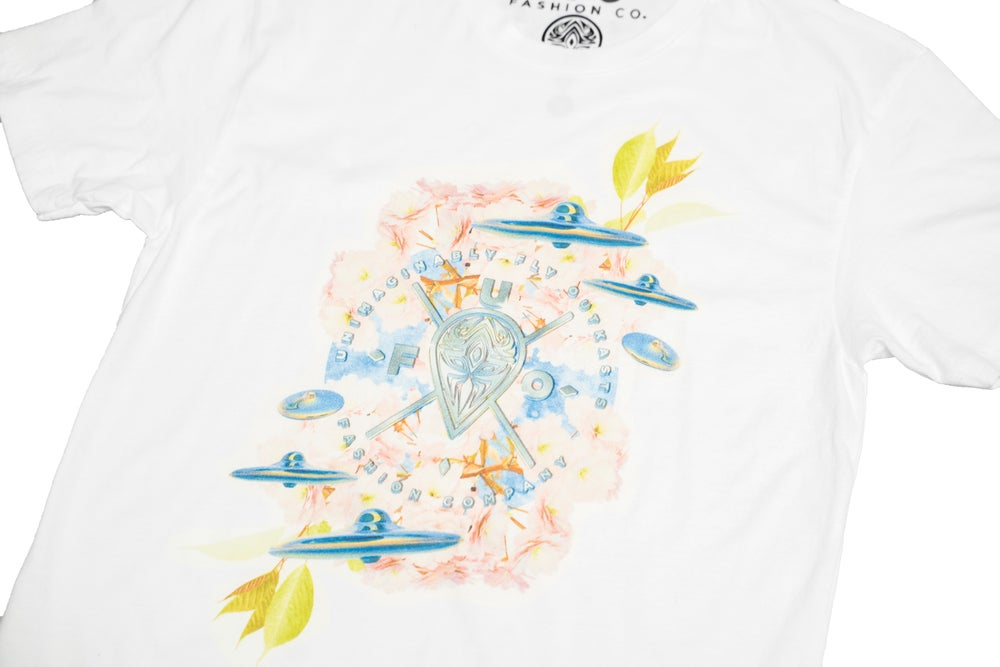 Image of U.F.O. Flowers Tee