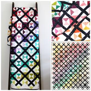 Image of Ombre Trellis PDF Quilt Pattern
