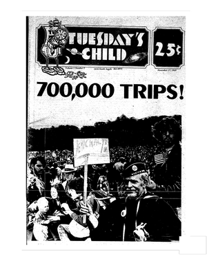 Image of Tuesday's Child - Volume 1, 1969