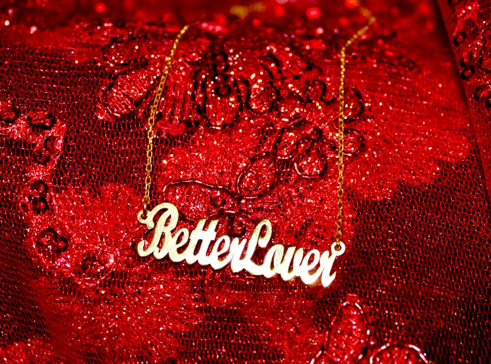 Image of BETTER LOVER necklace