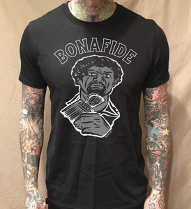 Image of ORALE BONAFIDE BLACK TEE