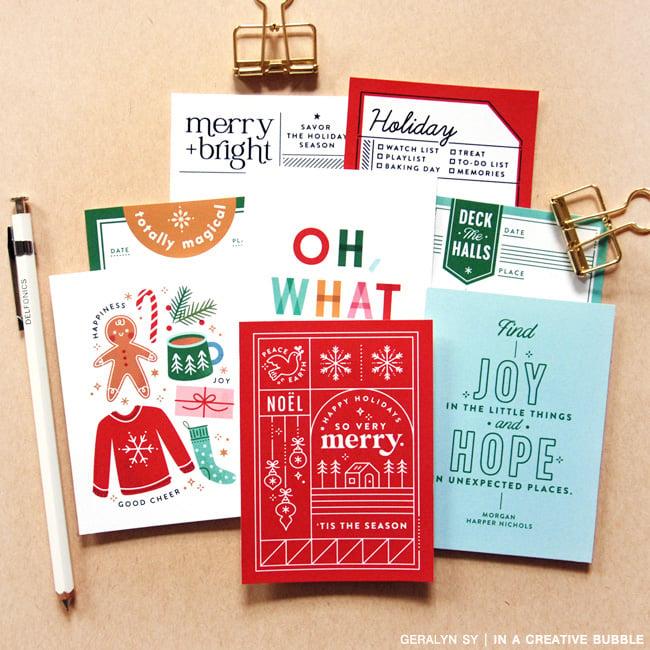 Image of Holiday Magic Journaling Cards No.3 (Digital)