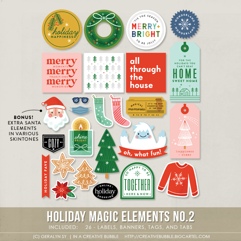 Holiday Magic Multiple Designs! Stationery Set