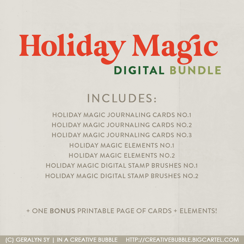 Image of Holiday Magic Bundle (Digital)