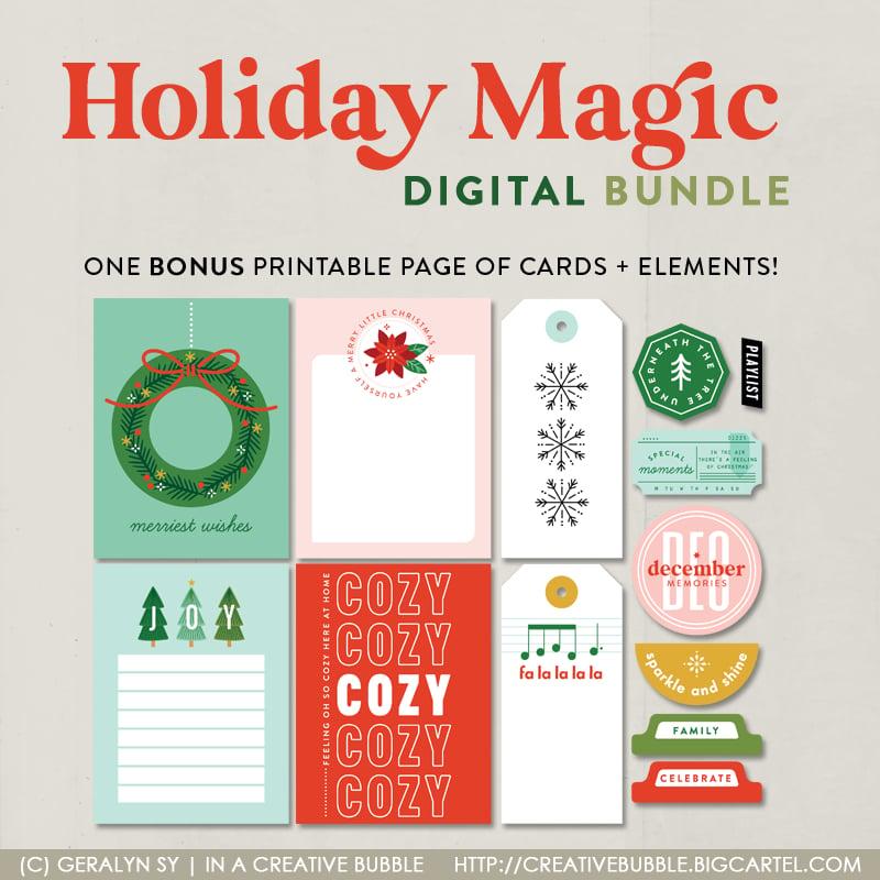 Image of Holiday Magic Bundle (Digital)