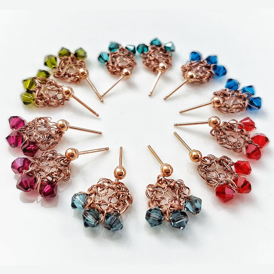 Image of ROSE-GOLD DEWDROP Earrings