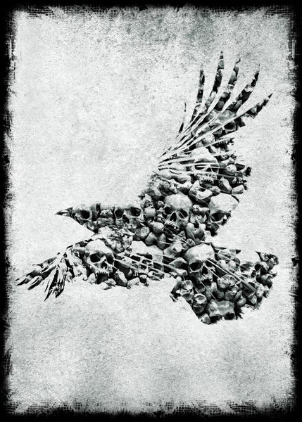 Image of RAVEN ART PRINT A3 | SIGNED, NUMBERED LTD ED. OF 100