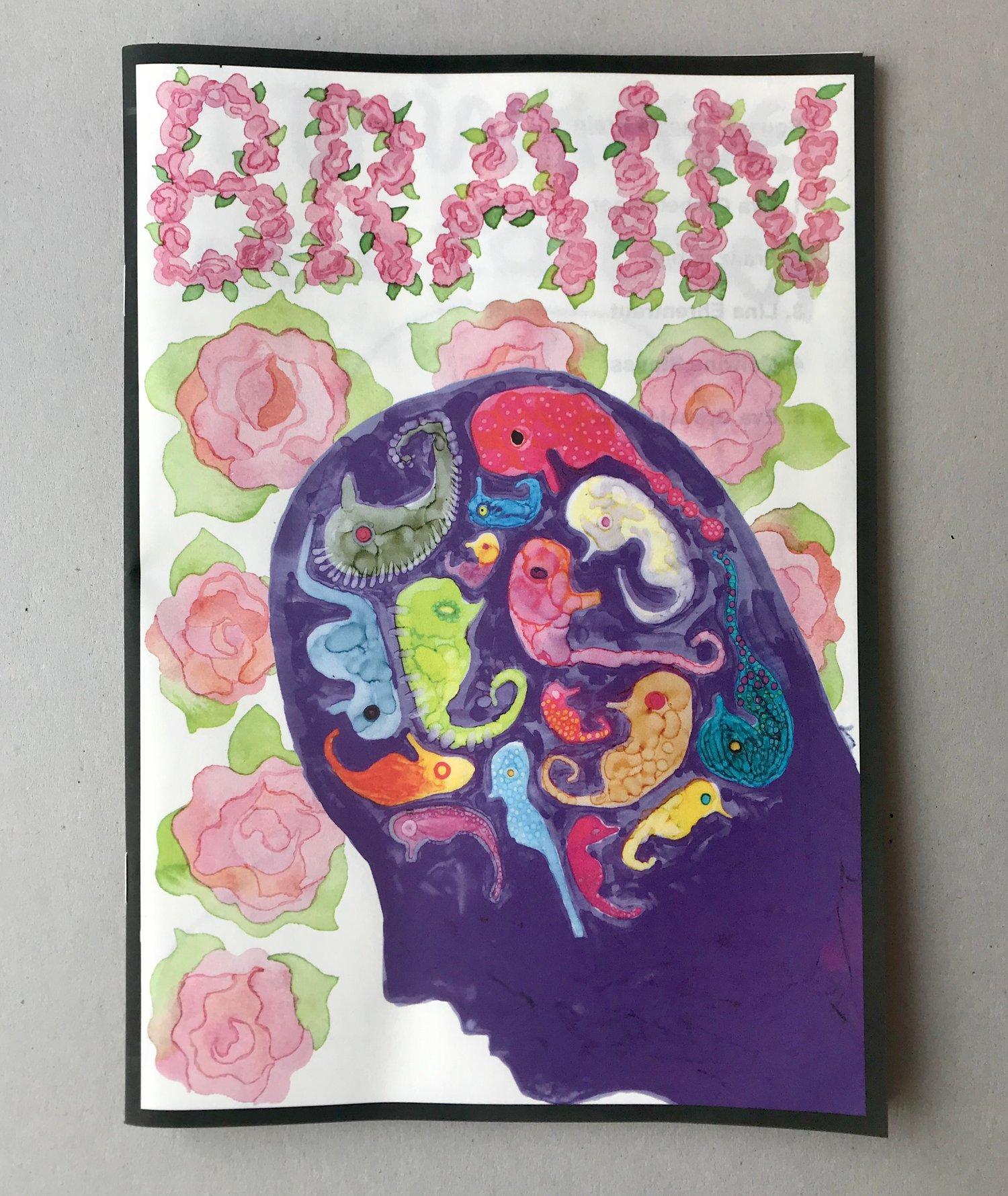 Image of SQUASH ZINE #6 Brain