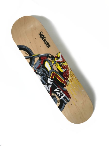 Image of Sideburn Wizard Skate Deck