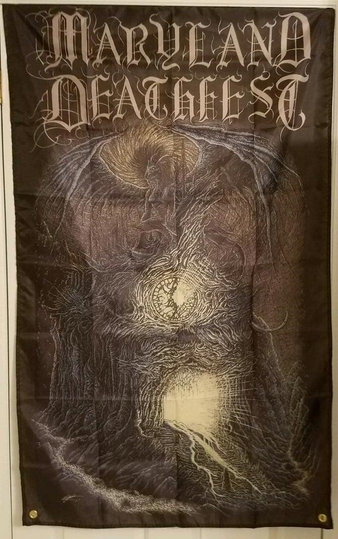Maryland Deathfest 3'x5' flag