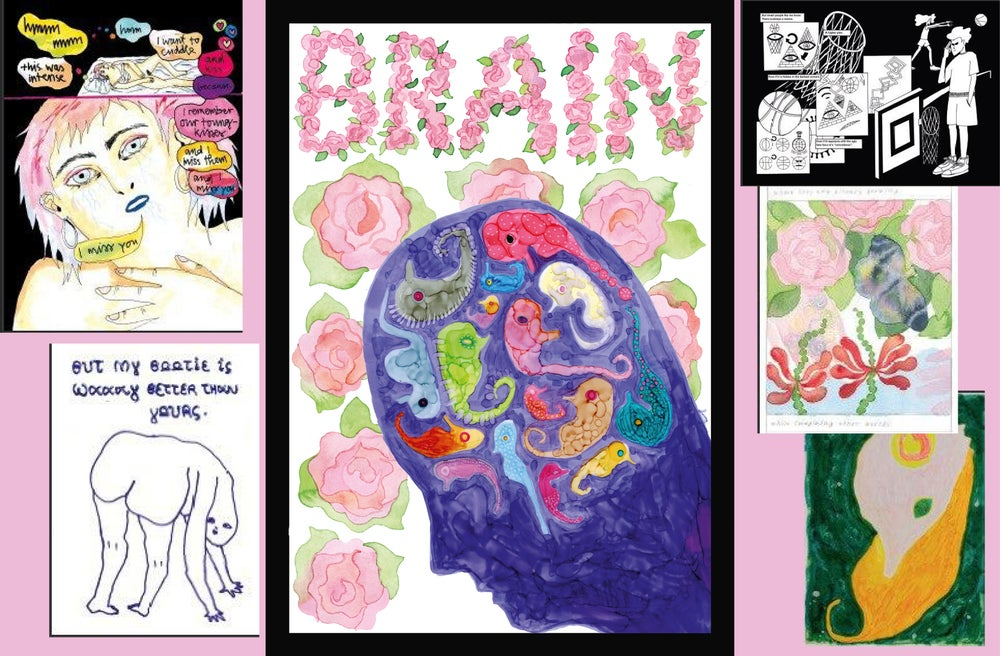Image of BRAIN DEAL - SQUASH zine #6 + Poster Edition