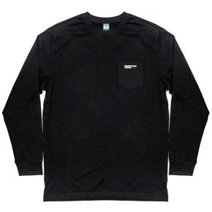 Image of MONTANA CANS LONGSLEEVE BLACK
