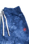 Small Face Globe Shorts- Blue