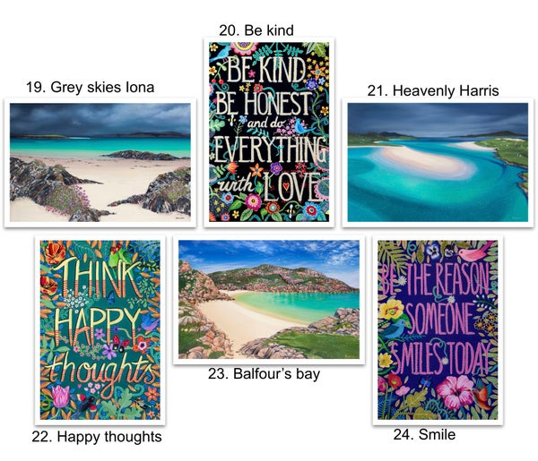 Image of Greeting cards 19-24