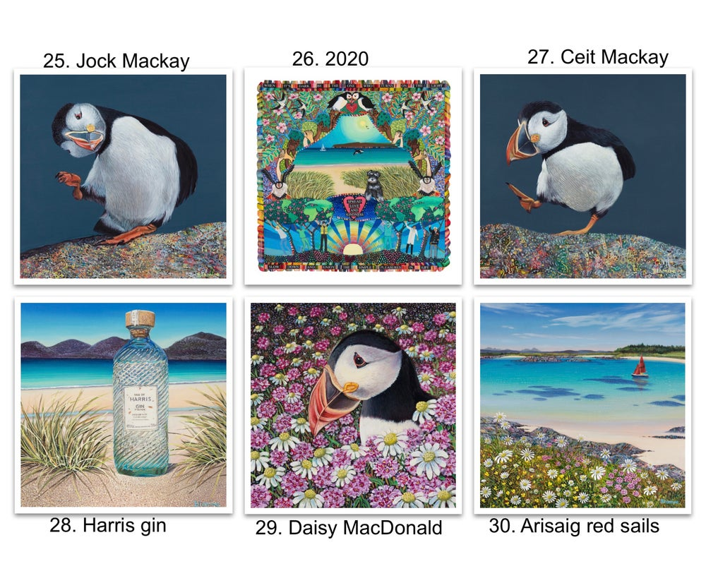 Image of Greeting cards 25-30
