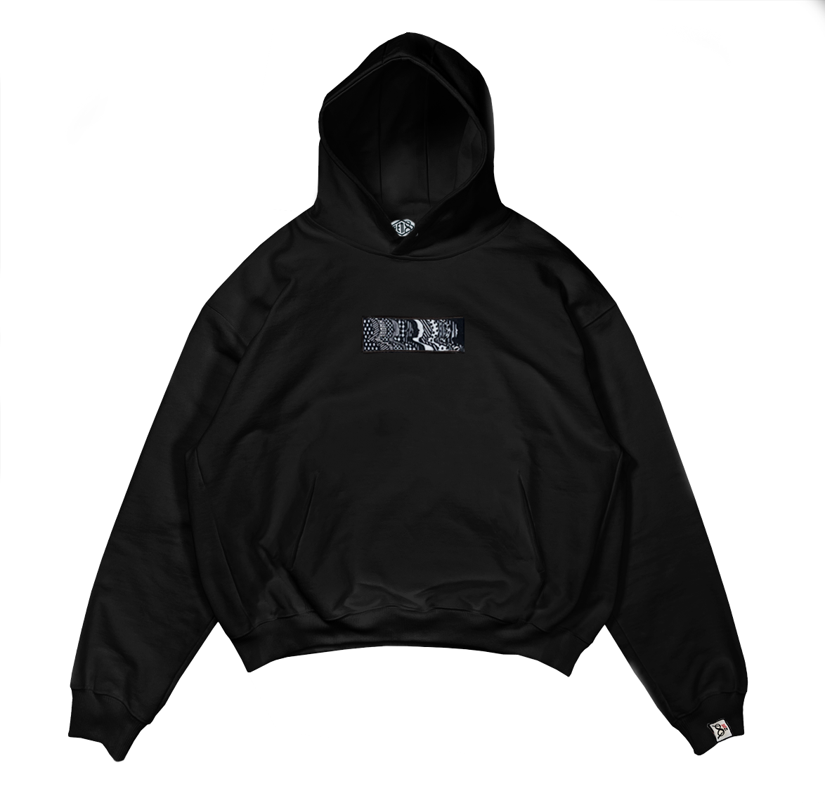 Image of 8th Dimension Black Hoodie