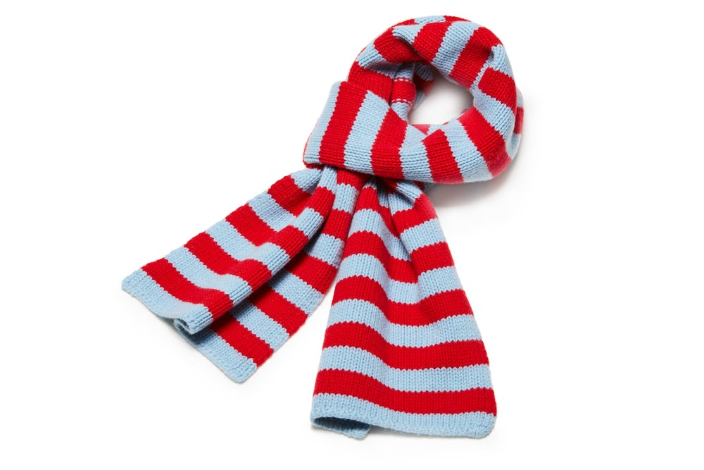 Image of équipe extra long scarf A3-F3