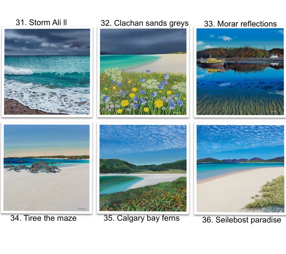 Image of Greetings cards 31-36