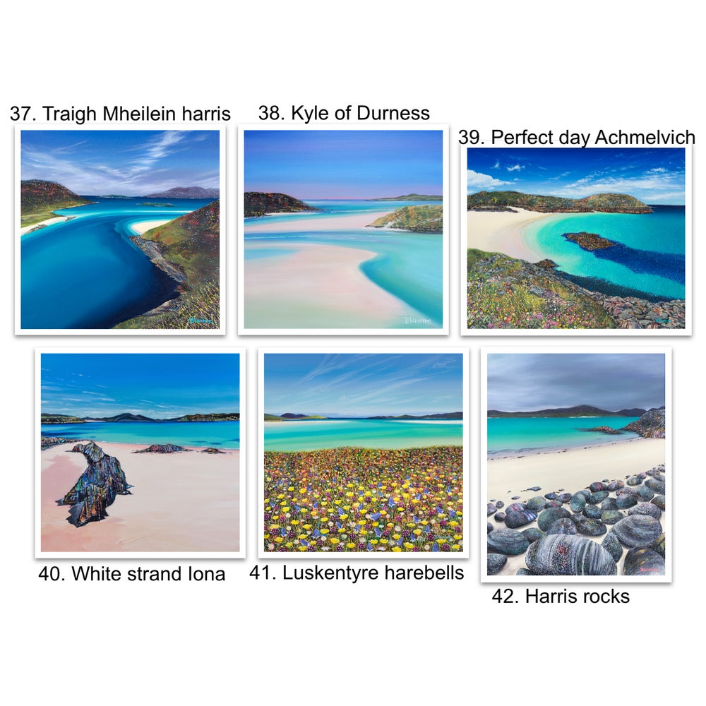 Image of Greetings cards 37-42