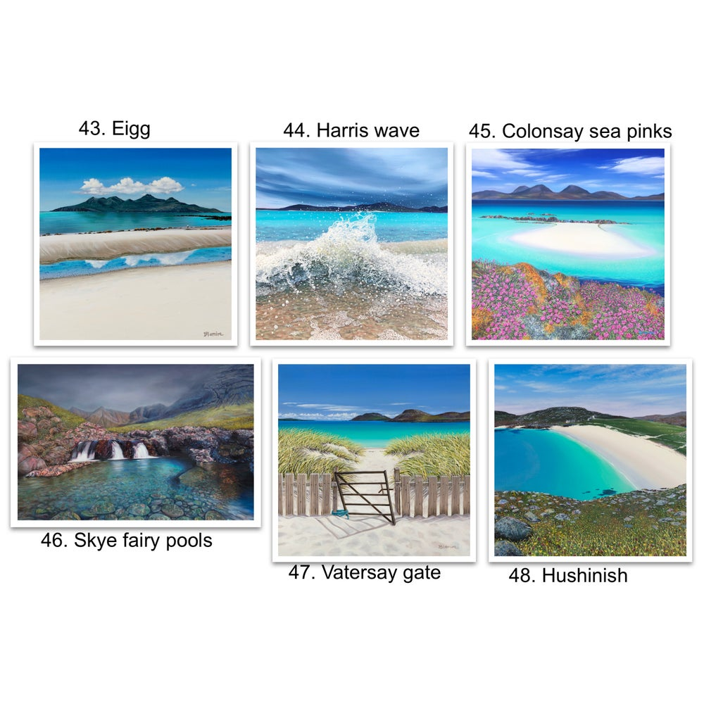 Image of Greetings cards 43-48