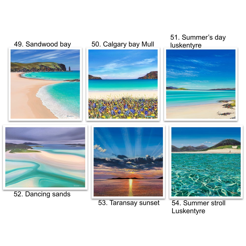 Image of Greeting cards 49-54