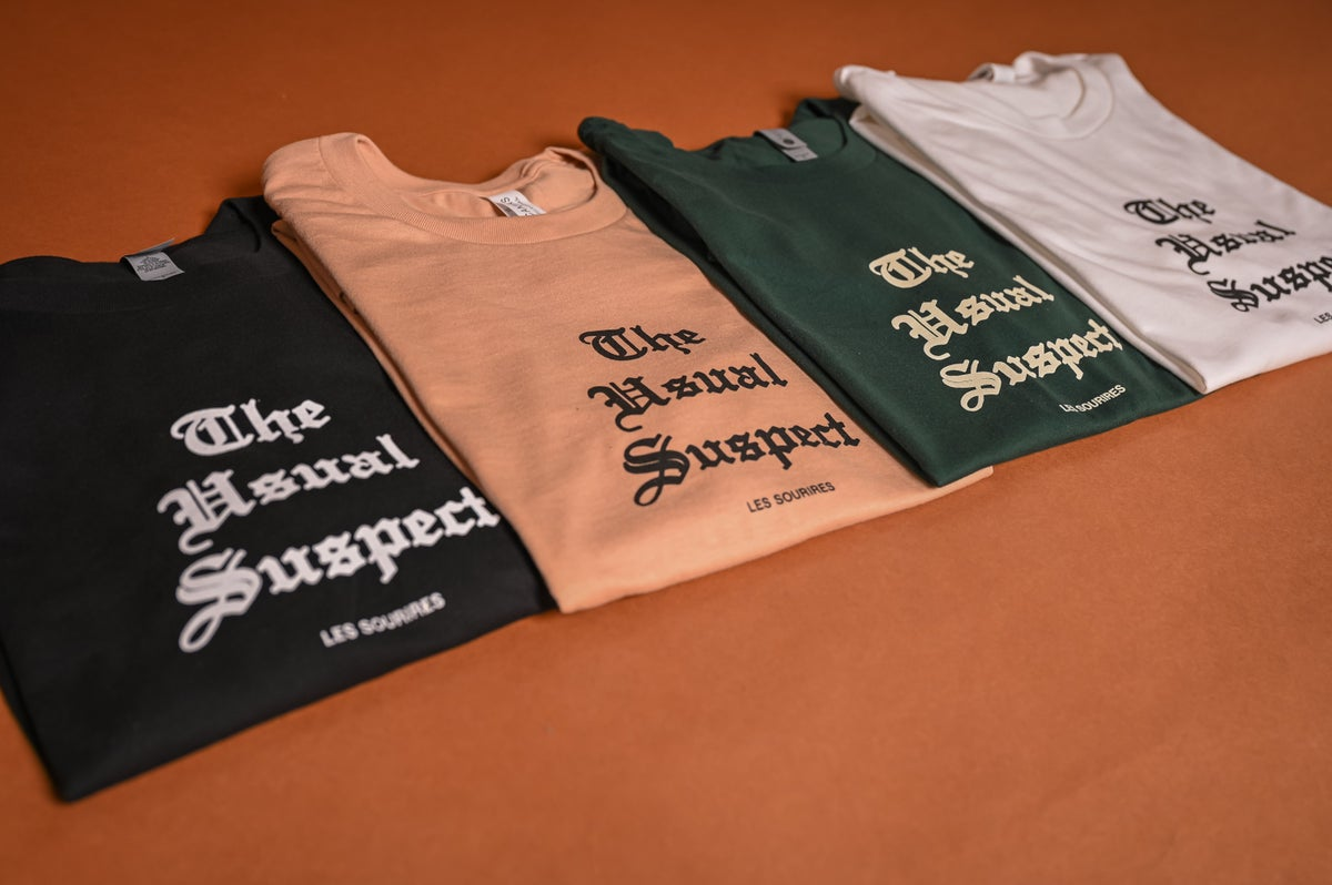 Image of Usual Suspect Tee