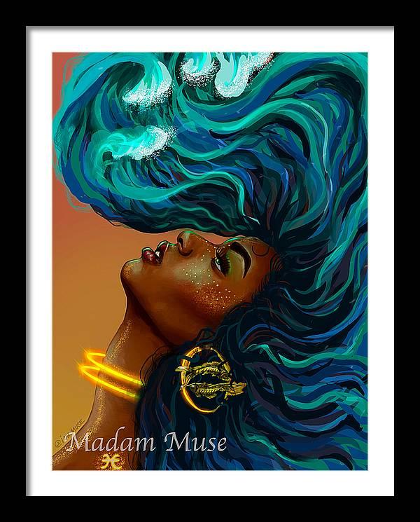 "Image of ""Queen Pisces"" Open Edition Prints"