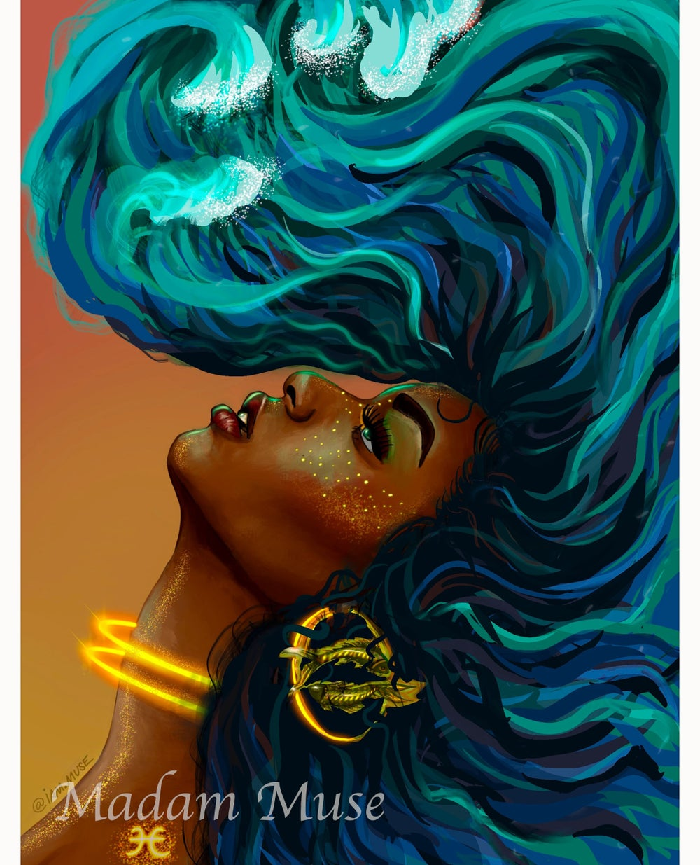 "Image of ""Queen Pisces"" Limited Edition Prints"