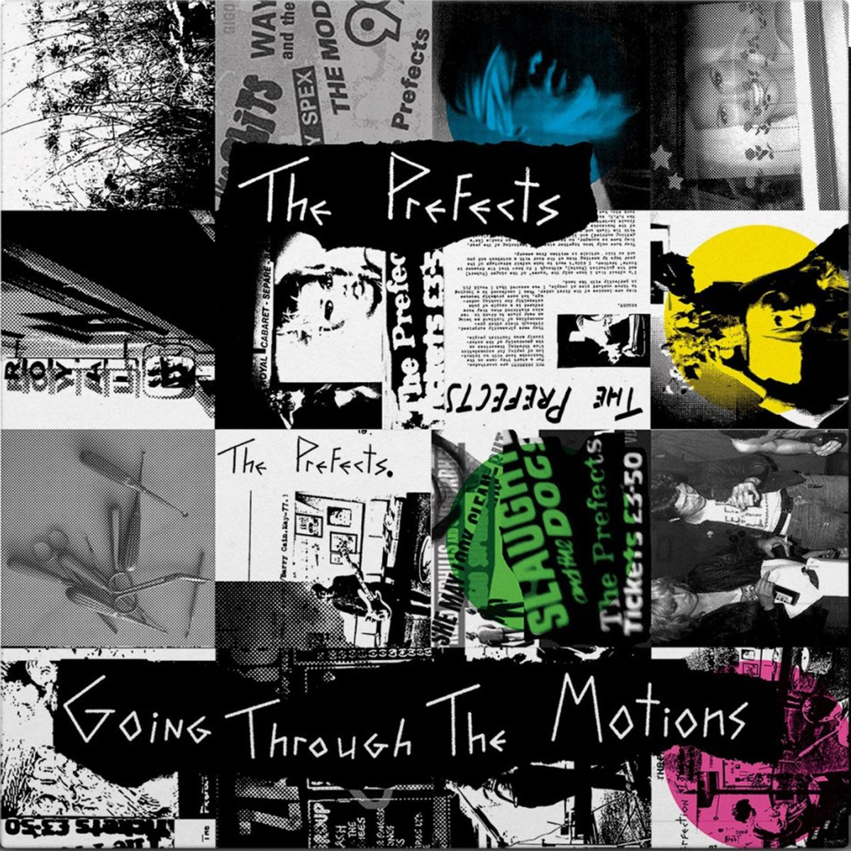 Image of THE PREFECTS - Going Through The Motions LP