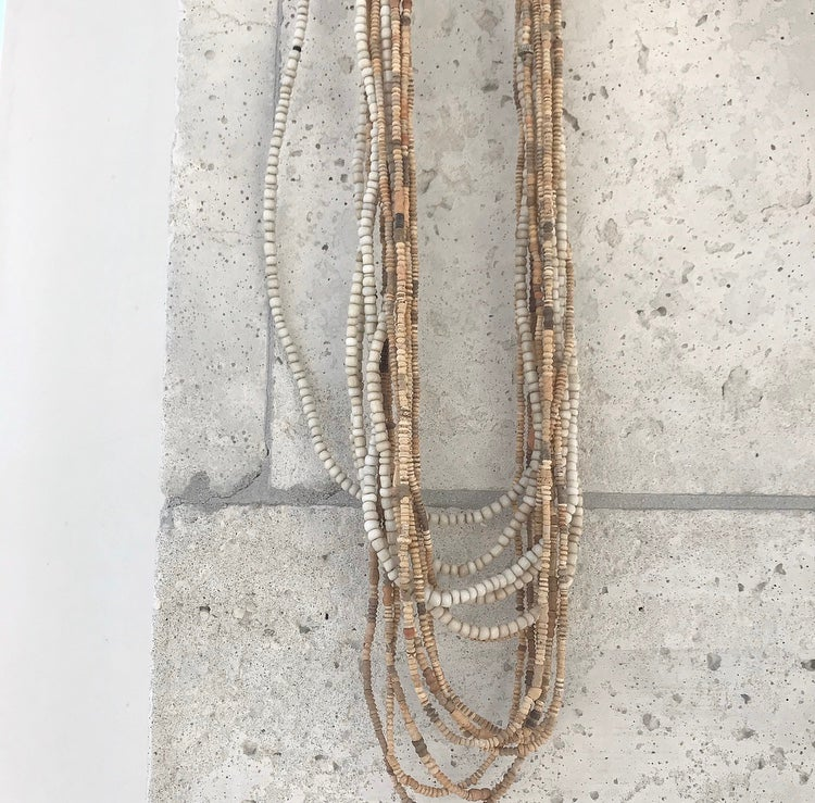 Image of Antique Clay Necklace