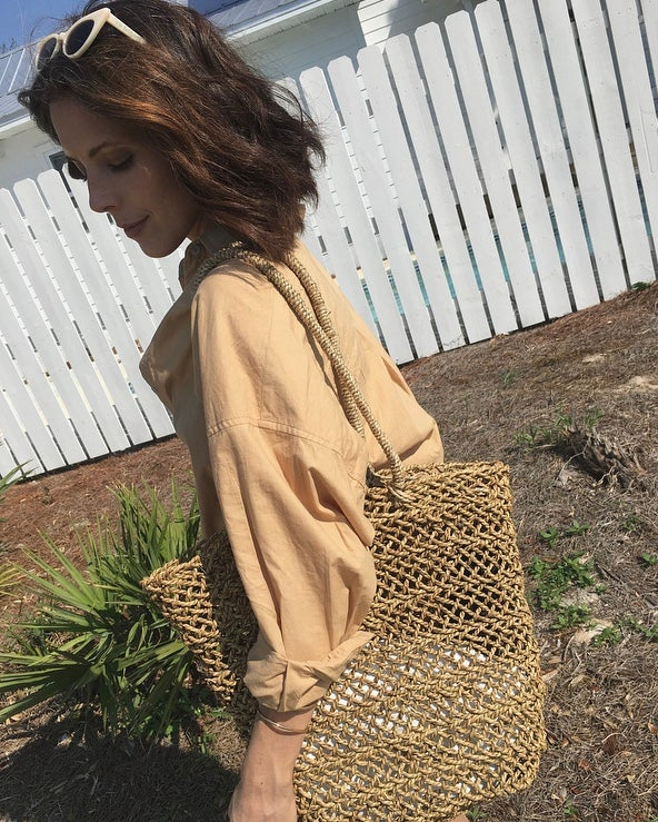 Image of Woven Tote