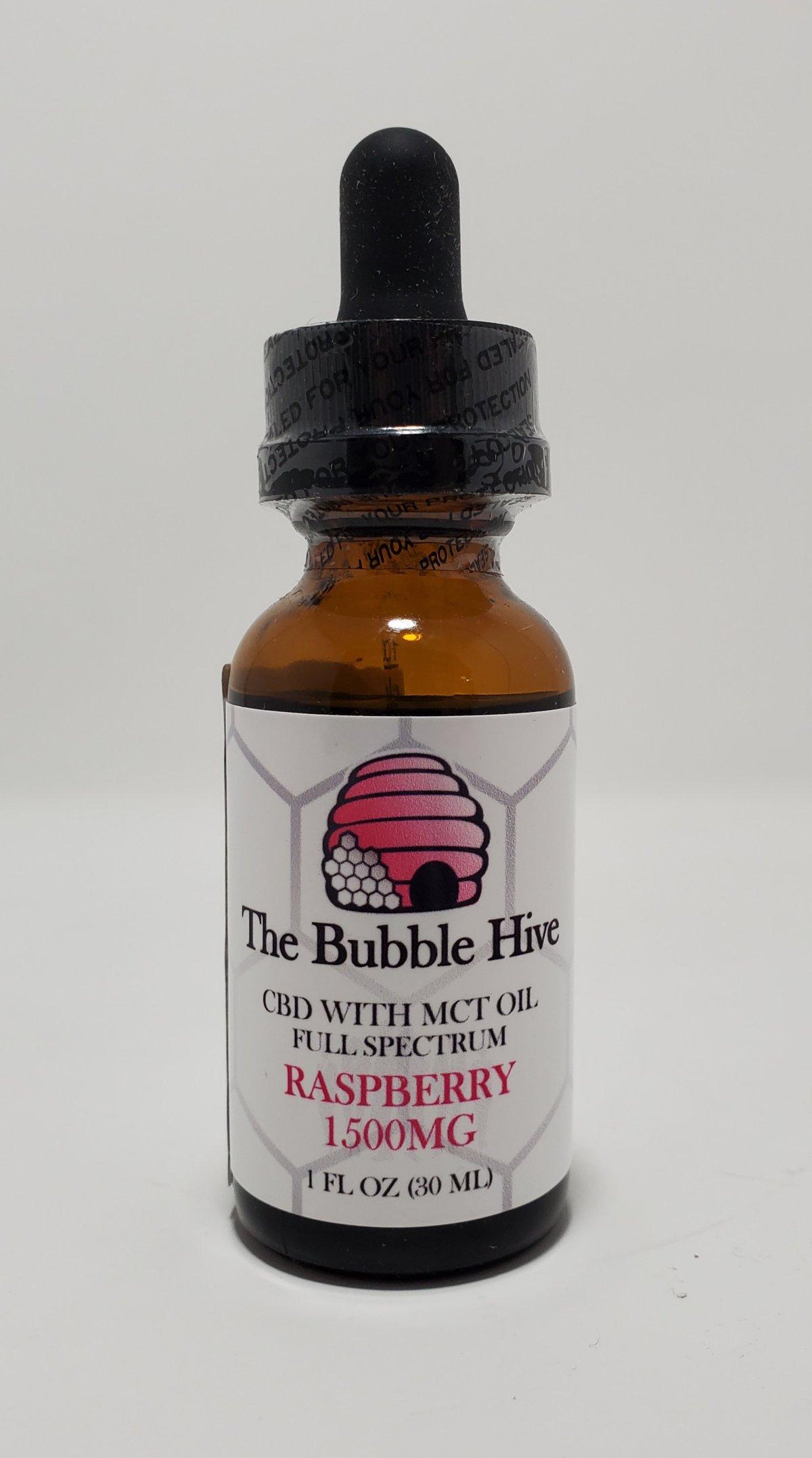Image of 1500 MG Raspberry CBD w MCT Oil (Full Spectrum)