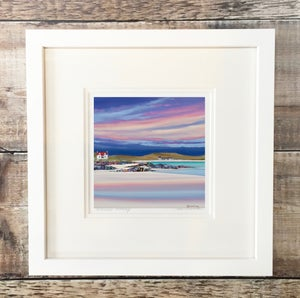 Image of Evening light, Barra giclee print