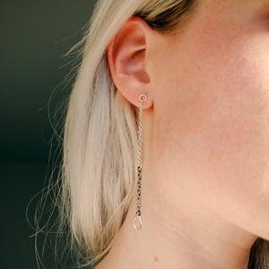 Zero Waste Chain Earrings