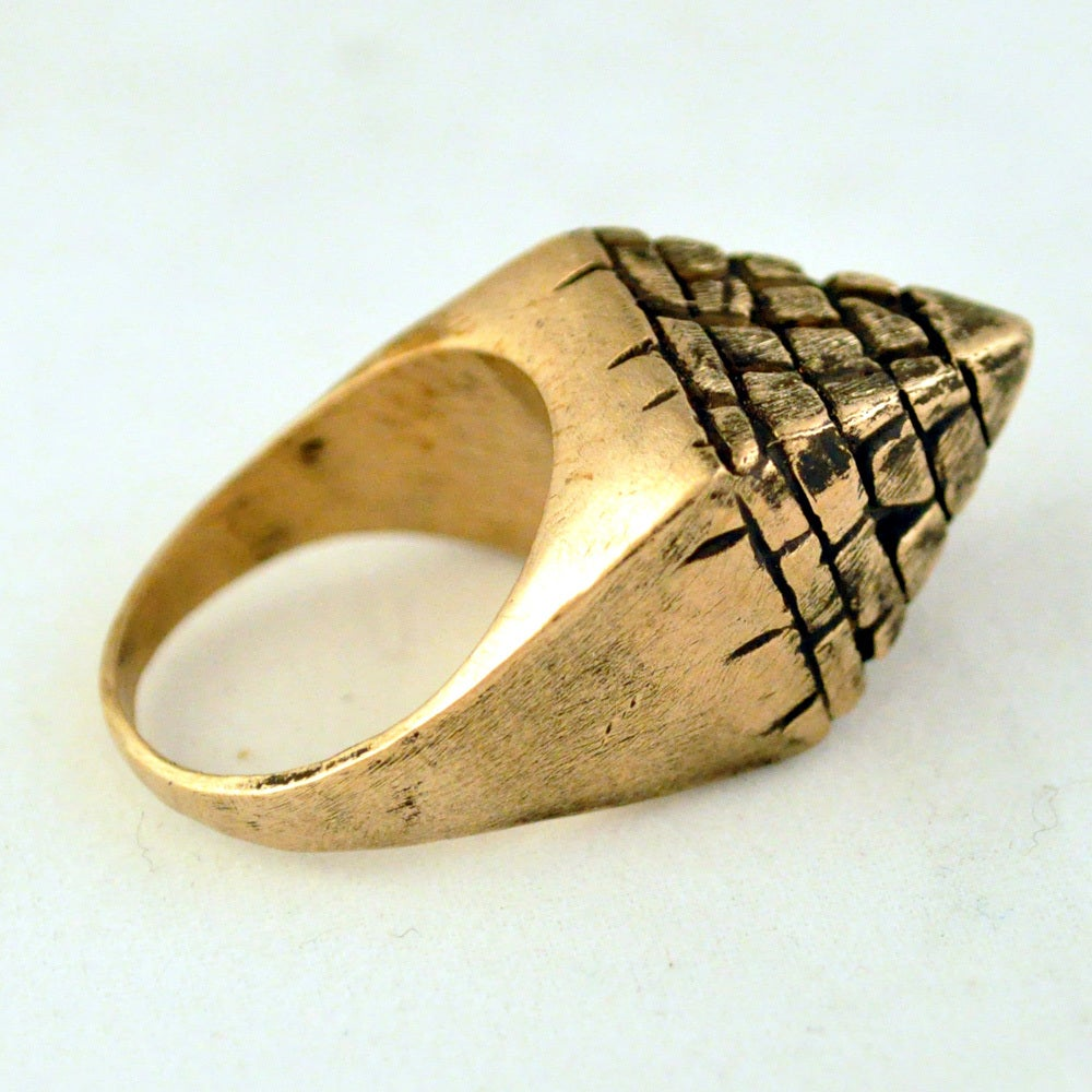 Image of Small Pyramid Ring