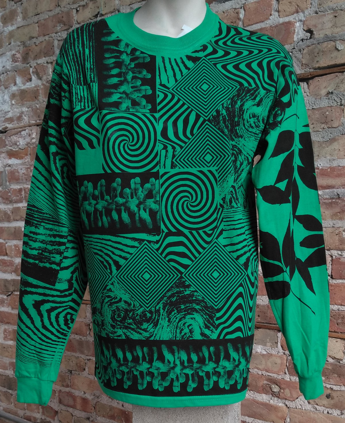 Image of Green Leaf Longsleeve [All Sizes]