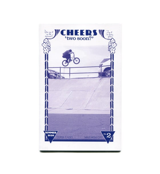 Image of Cheers Issue 2 Zine