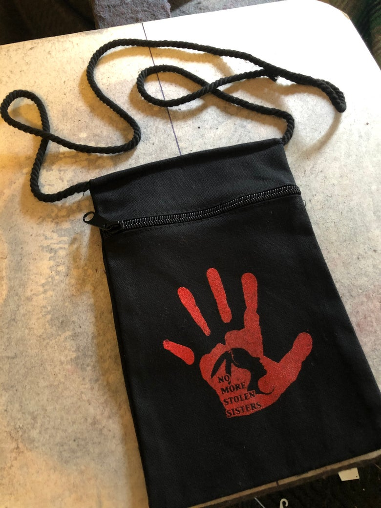 Image of No More Stolen Sisters cross over bag!